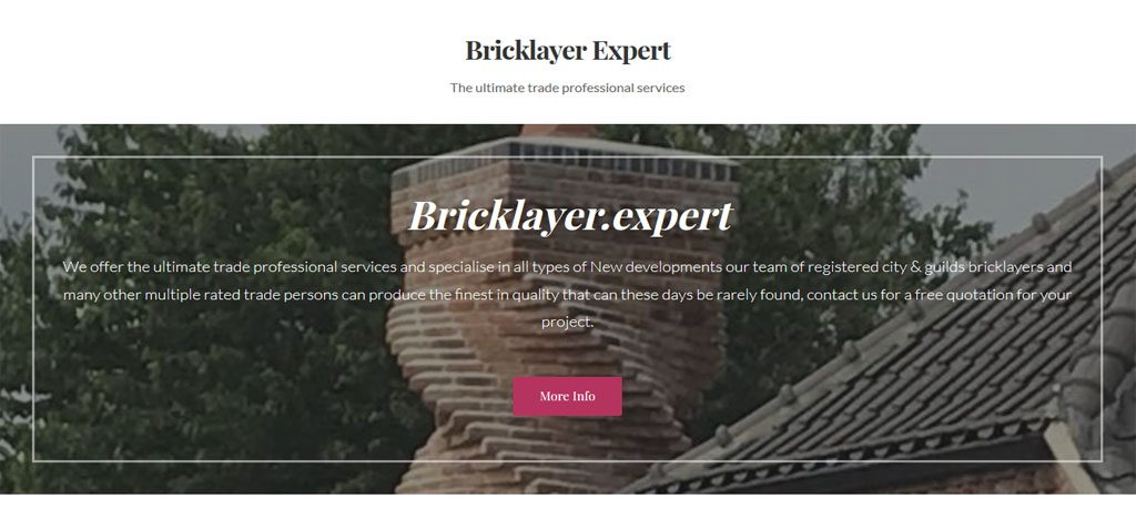 Bricklayer Expert